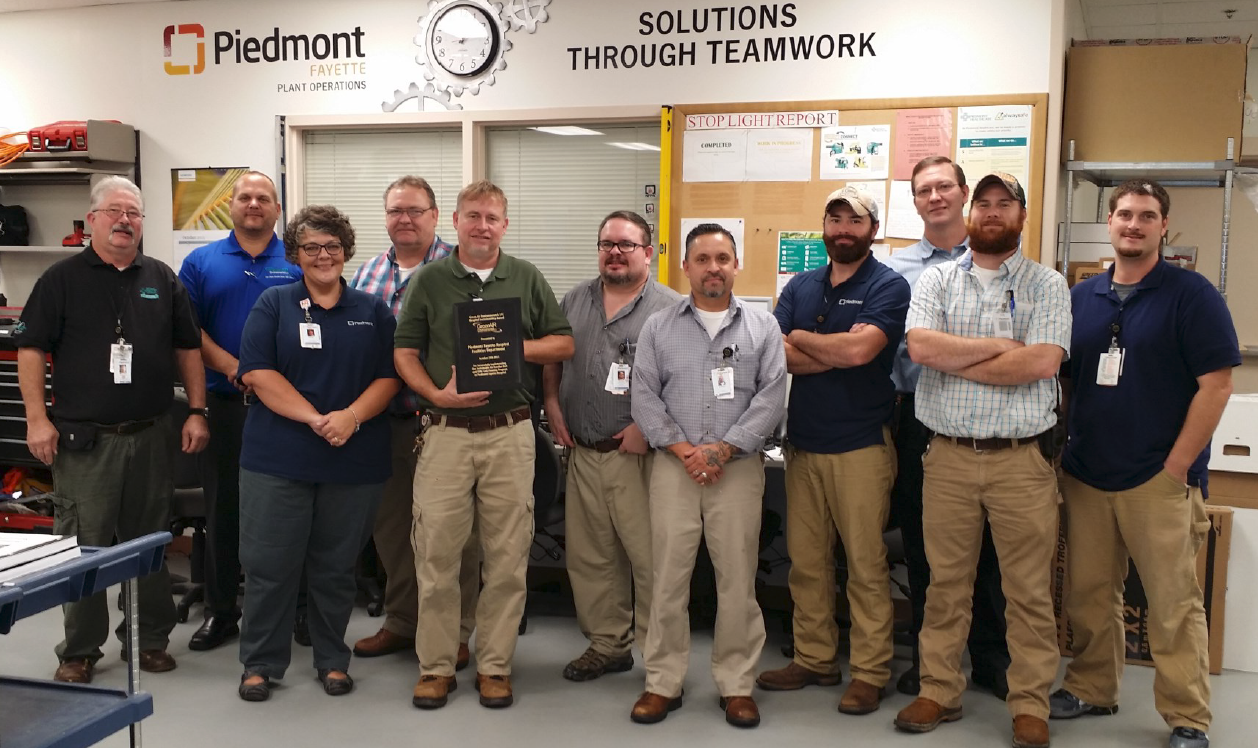 Piedmoint Fayette Hospital Sustainability Awards