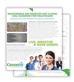 Greenair Healthcare Flyer Download