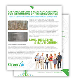 Greenair Higher Education Flyer Download