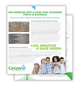 Greenair K-12 Schools Flyer Download