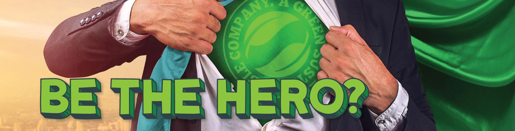GreenAir Be The Hero Banner